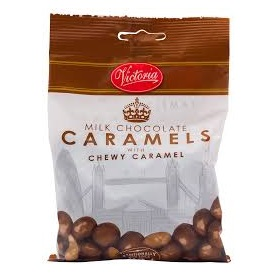 VICTORIA MILK CHOCOLATE CARAMELS 250GR